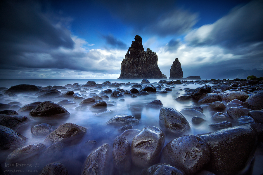 Madeira waterscape photography in Ribeira da Janela, made by landscape photographer José Ramos from Portugal