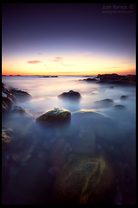 Long exposure waterscape photography in Porto Covo, in the Alentejo region, made by landscape photographer José Ramos from Portugal