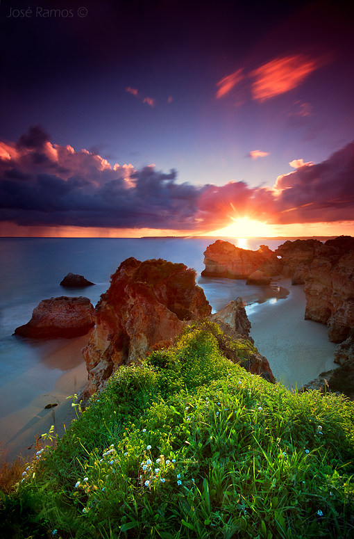 Landscape photography in Prainha, near Alvor, located in the Algarve region, made by landscape photographer José Ramos from Portugal