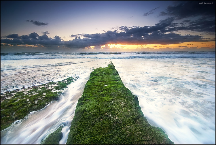 Long exposure waterscape photography in Ericeira, made by landscape photographer José Ramos from Portugal