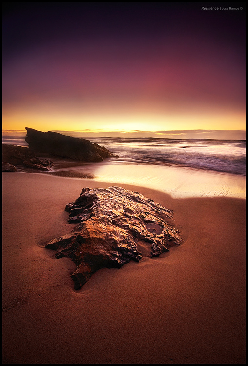 Long exposure waterscape photography in Guincho, in the Parque Nacional de Sintra Cascais, made by landscape photographer José Ramos from Portugal