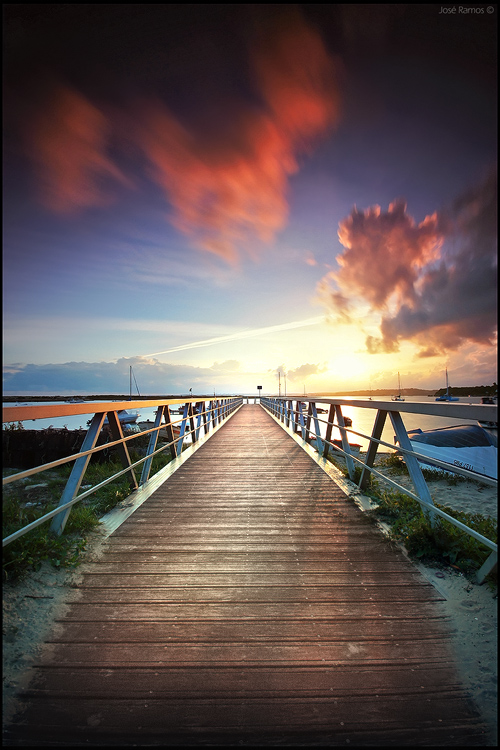 Landscape photography in Alvor, located in Algarve, shot by landscape photographer José Ramos from Portugal