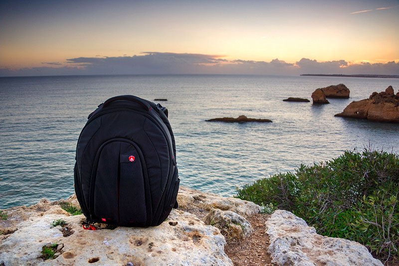 Manfrotto Bug 203-PL backpack review by landscape photographer José Ramos