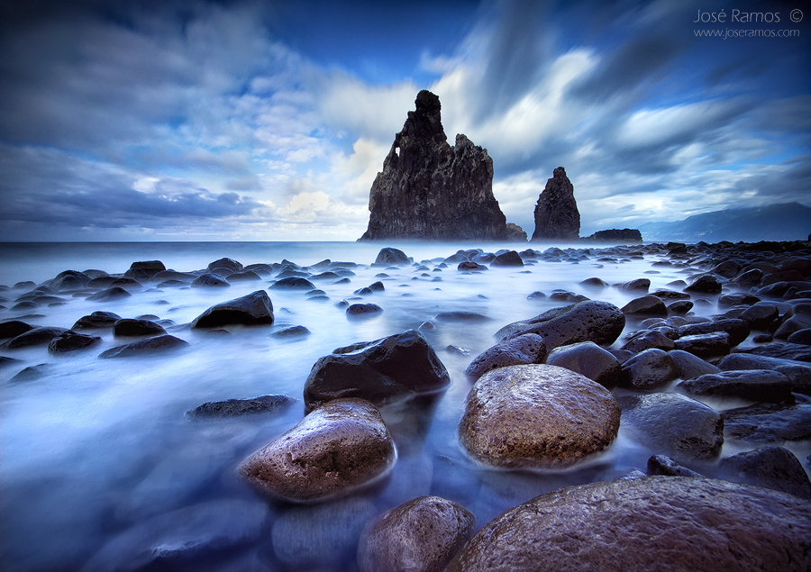 Landscape photography image shot in Ribeira da Janela, Madeira Island, by José Ramos from Portugal