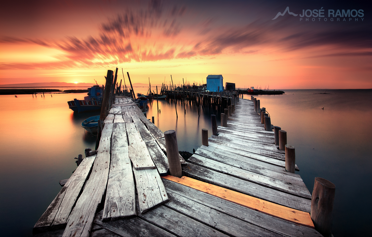 Landscape photography image shot in the Palafite Pier of Carrasqueira by José Ramos from Portugal