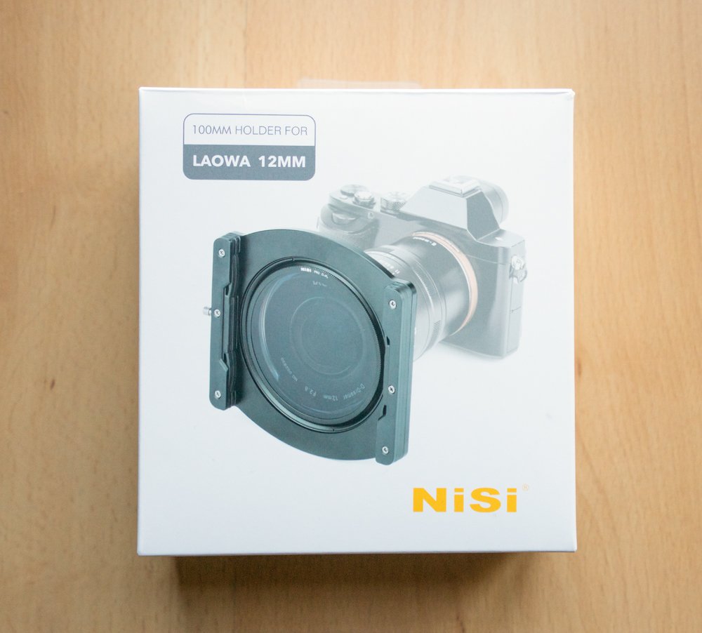 Nisi 100mm Filter Holder For The Laowa 12mm Lens Review System All In One Case Box