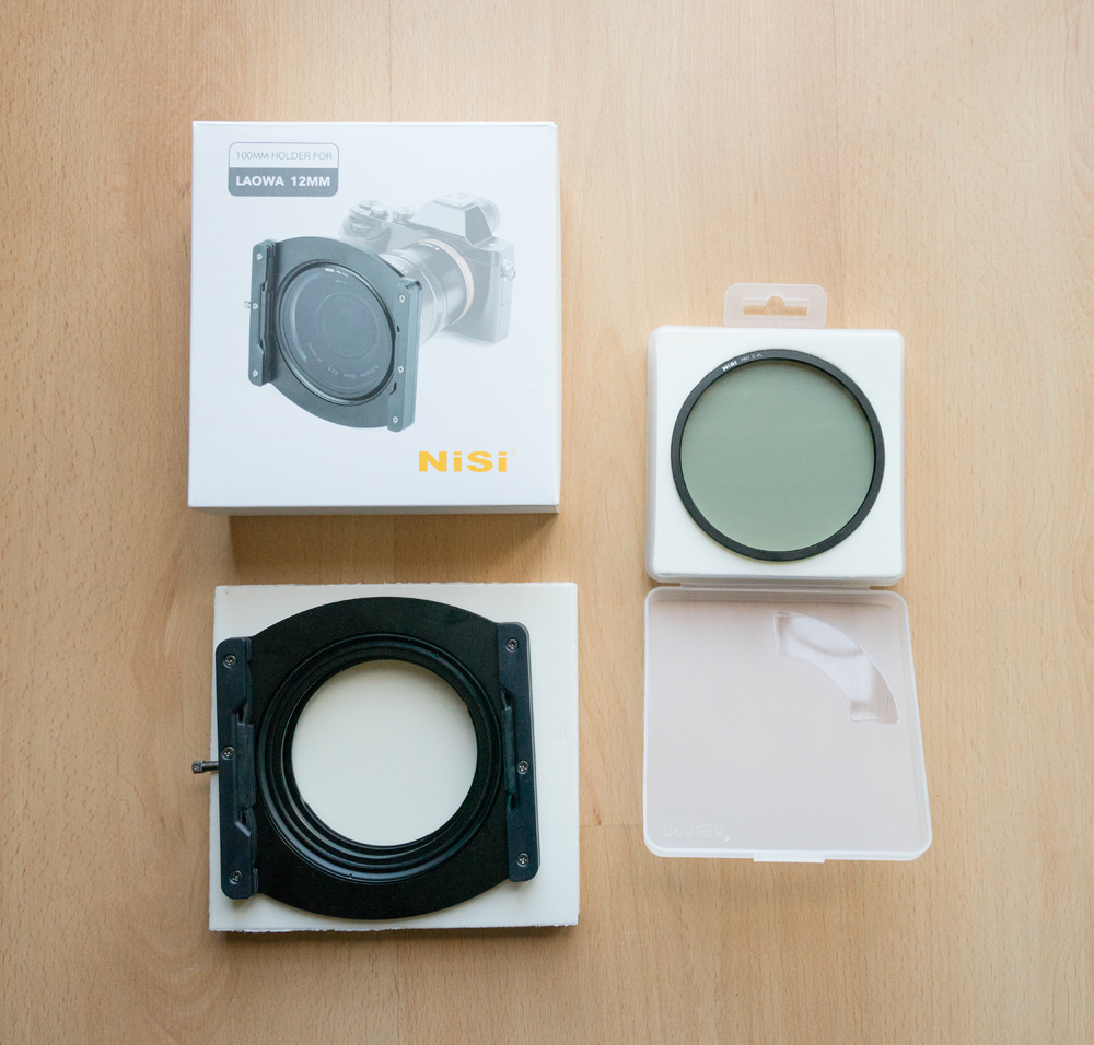 Nisi Holder kit for The Laowa 12mm lens