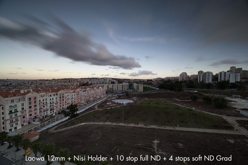 Laowa 12mm with Nisi holder and Nisi Filters
