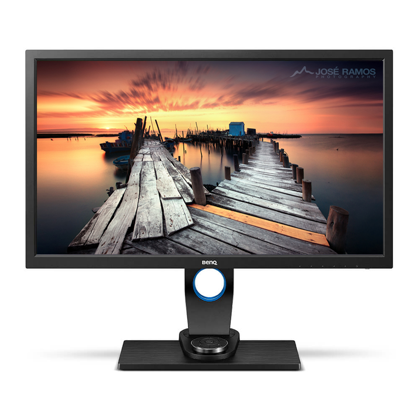 """BenQ SW2700PT - Taken from the official BenQ website, with my """"The Doubt"""" photo added"""