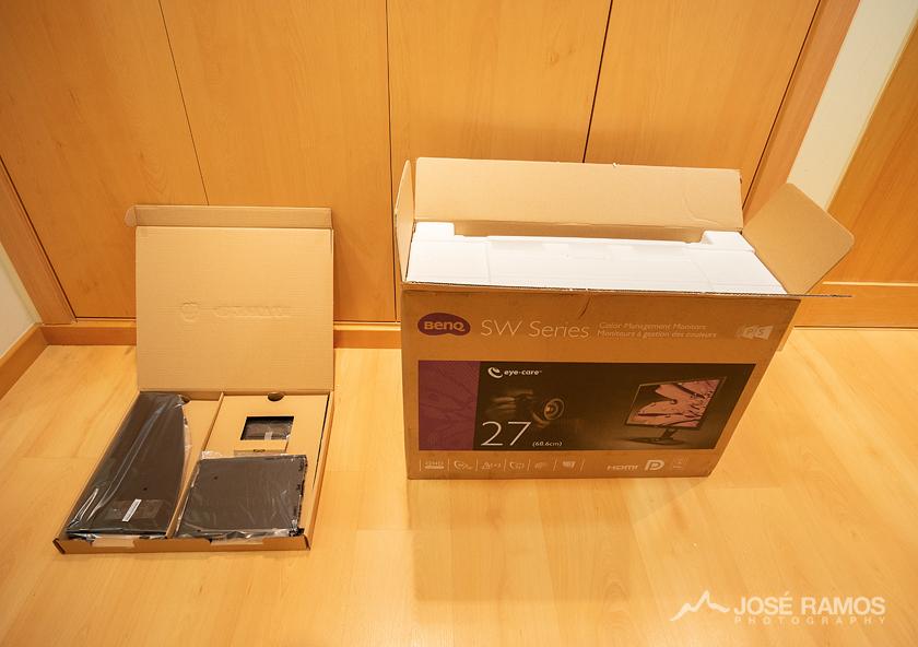 BenQ SW2700PT unboxing