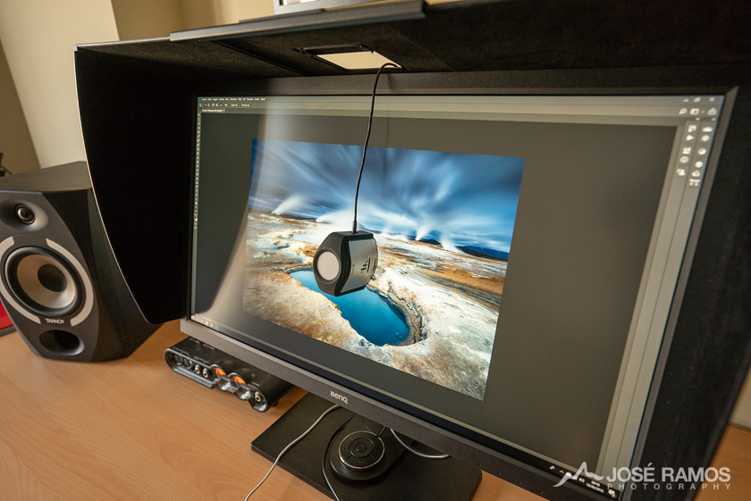 BenQ SW2700PT calibrated with the X-Rite i1Display Pro
