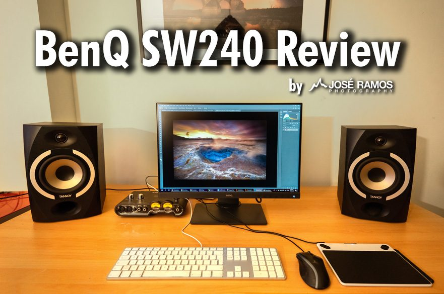 BenQ SW240 Monitor Review