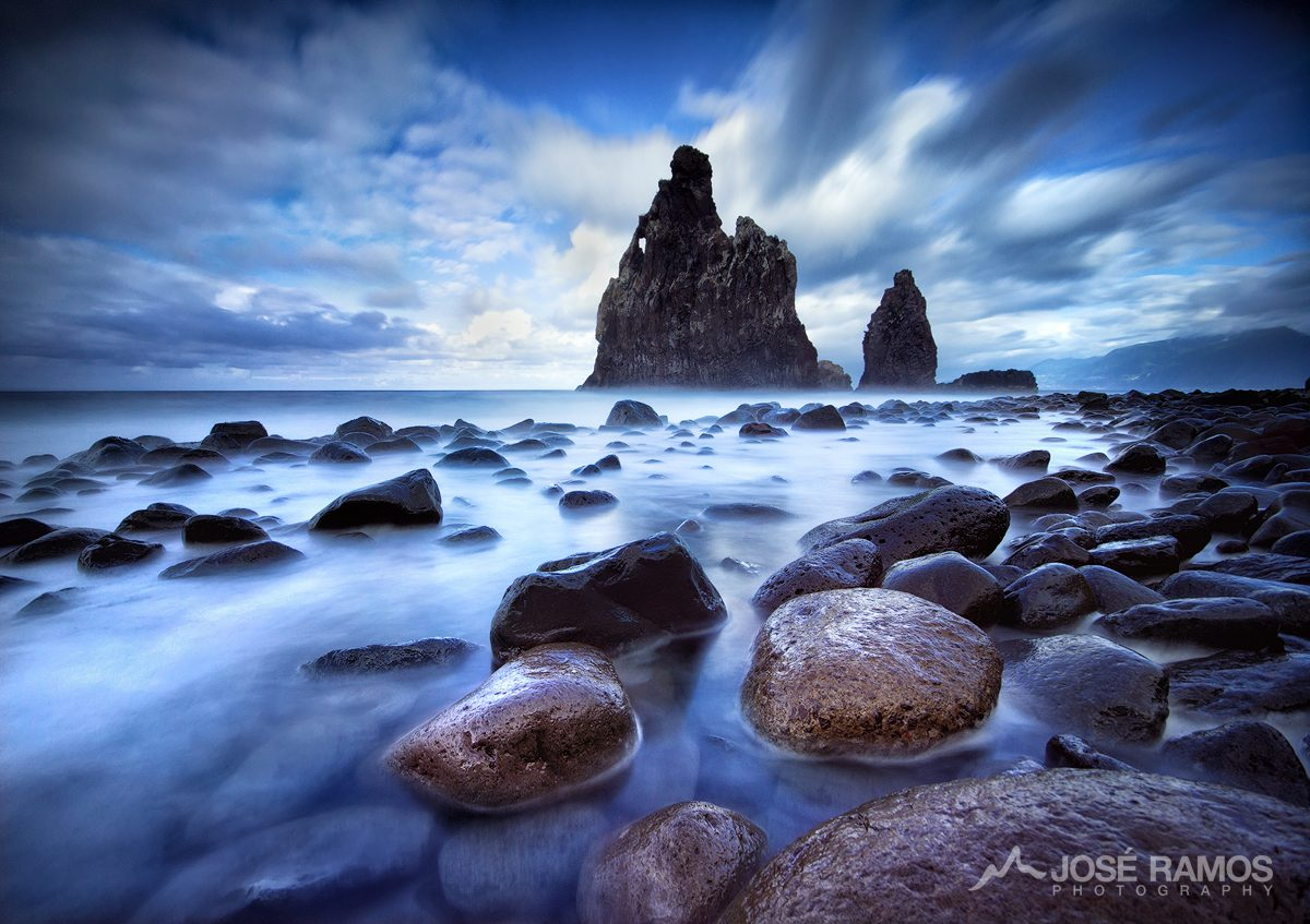 Long exposure landscape photo captured in Madeira Island, shot by landscape photographer José Ramos