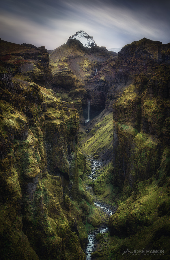 Secret Canyon photo made in Iceland, shot by landscape photographer José Ramos