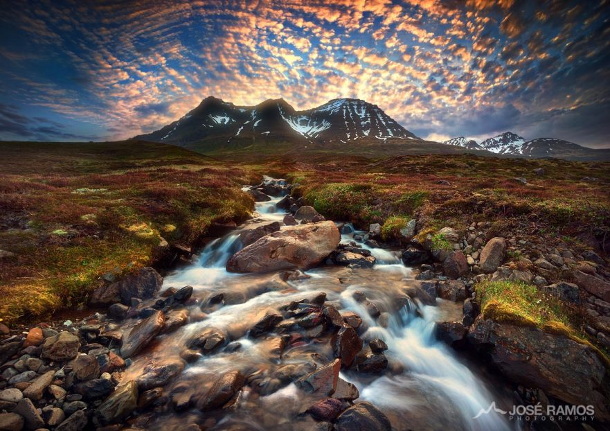 Landscape photography in East Iceland, captured by landscape photographer José Ramos