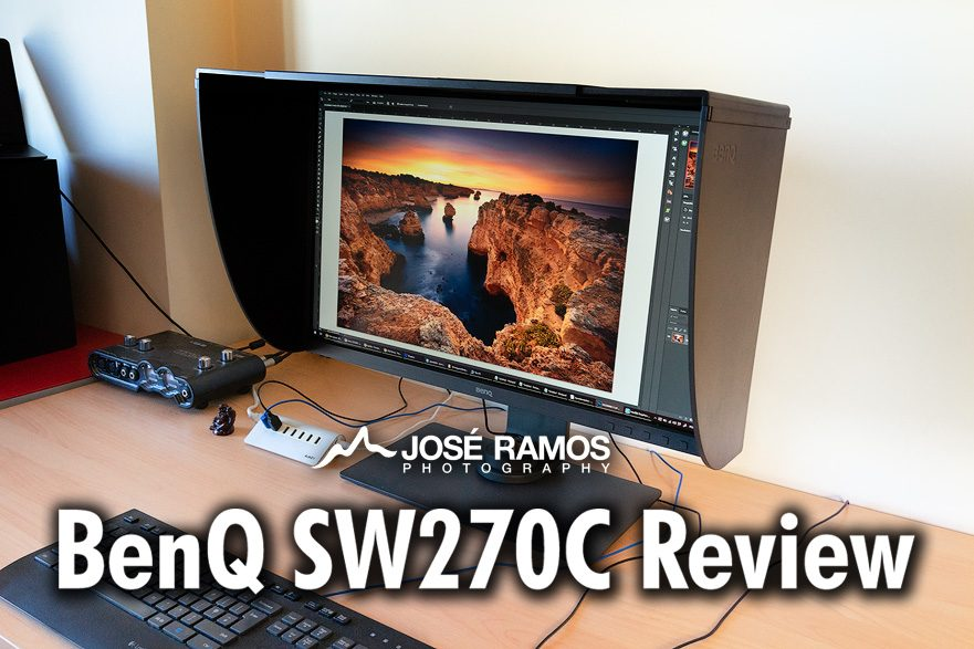 BenQ SW270C Monitor Review Cover Image