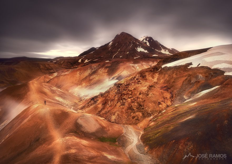 Landscape photo in the highlands of Iceland, in a place called Kerlingarfjoll, shot by landscape photographer José Ramos